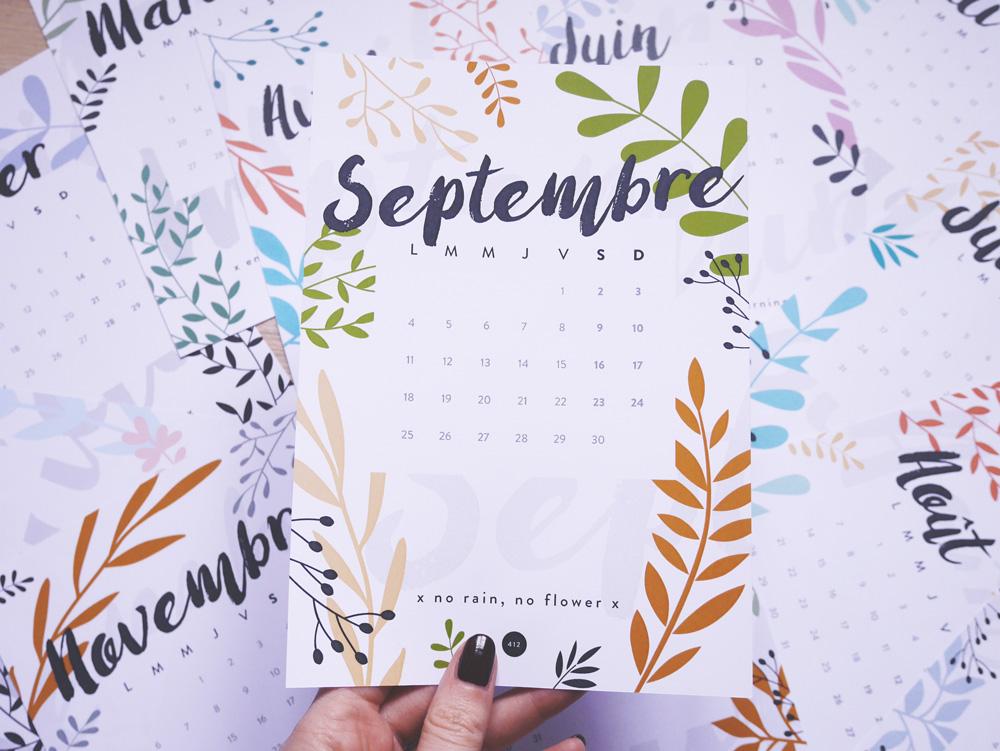 calendrier 2017 blog print