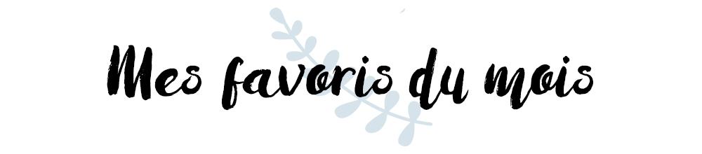 favoris mois blog