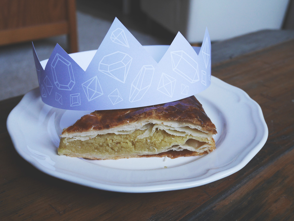 couronne DIY galette rois print