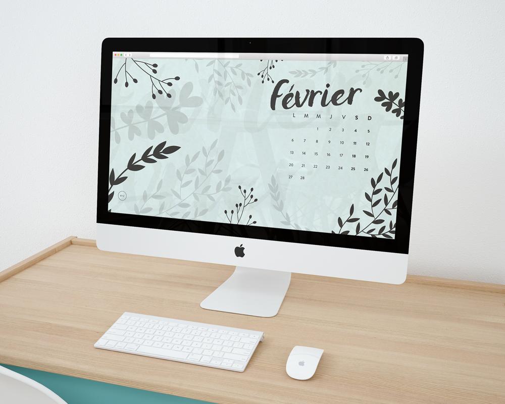 fonds d'écran design graphique blog février