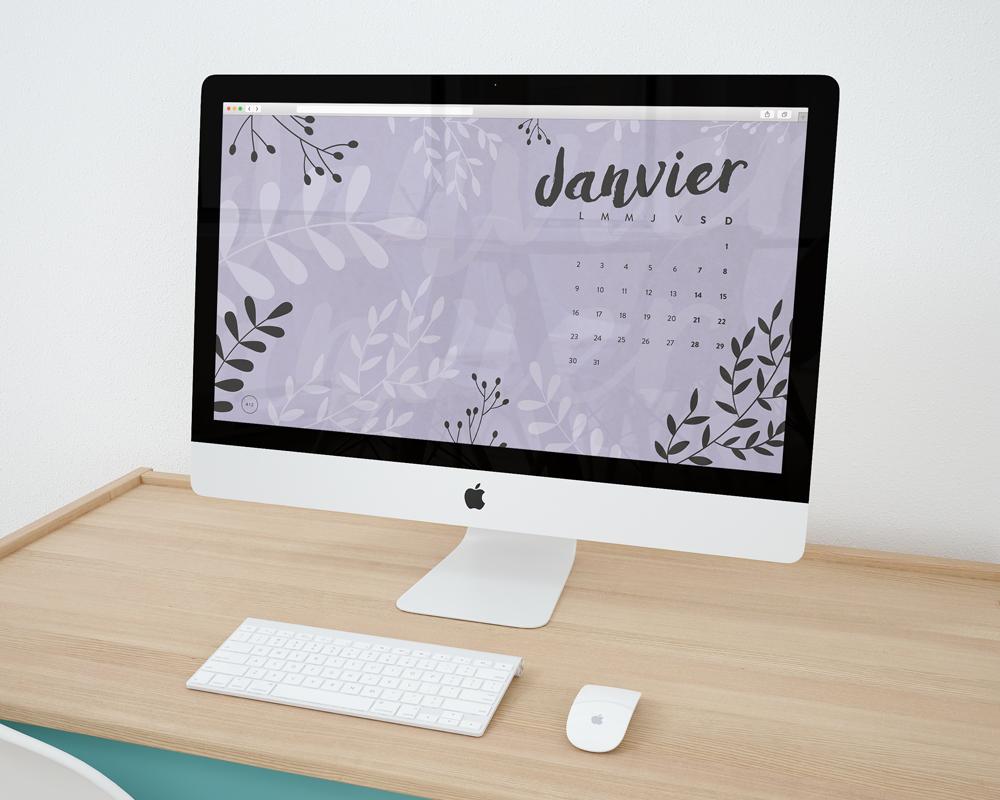 fonds d'écran design graphique blog janvier