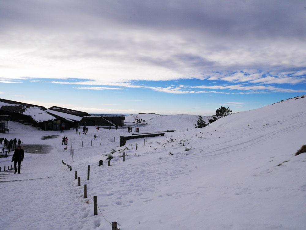 puy de dome auvergne neige